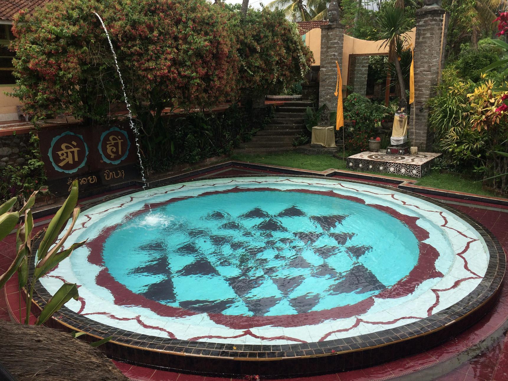 Mosaic Mandala Pool