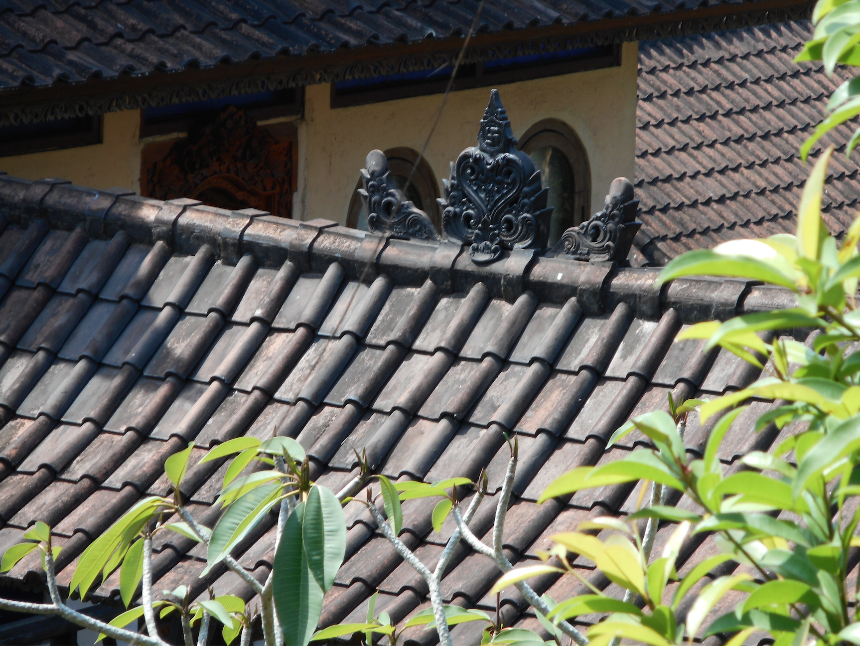 "Atop every Hindu Home and temple through Bali. "" PUMUBUG,"" An inspiration to one my jewelry pieces."