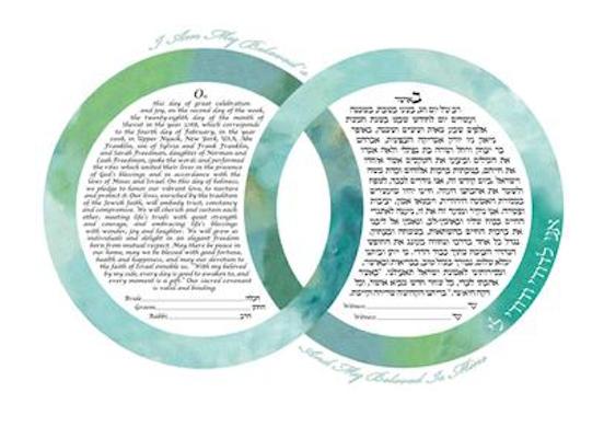 Simply Two Rings Ocean