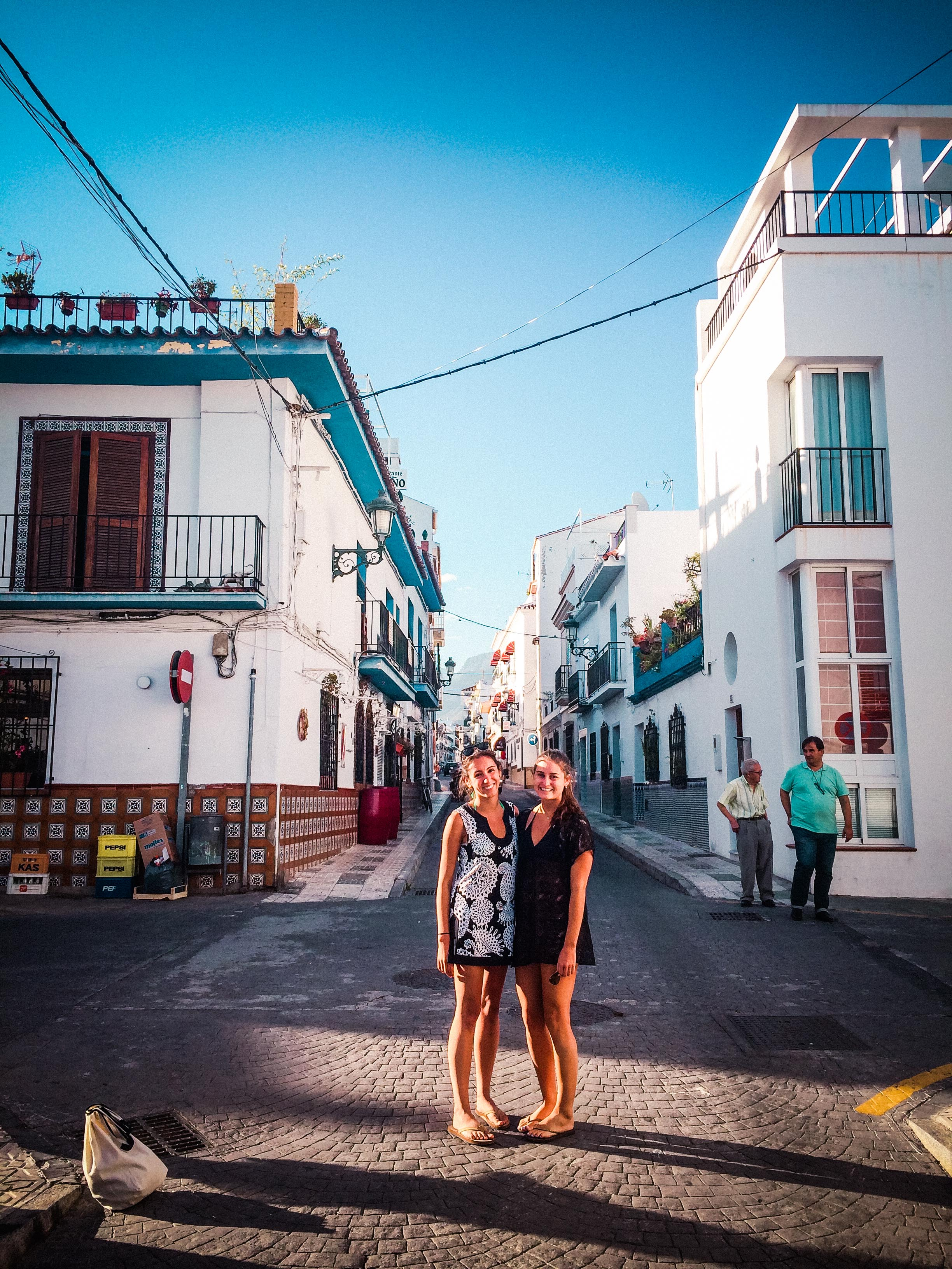 Malaga streets.