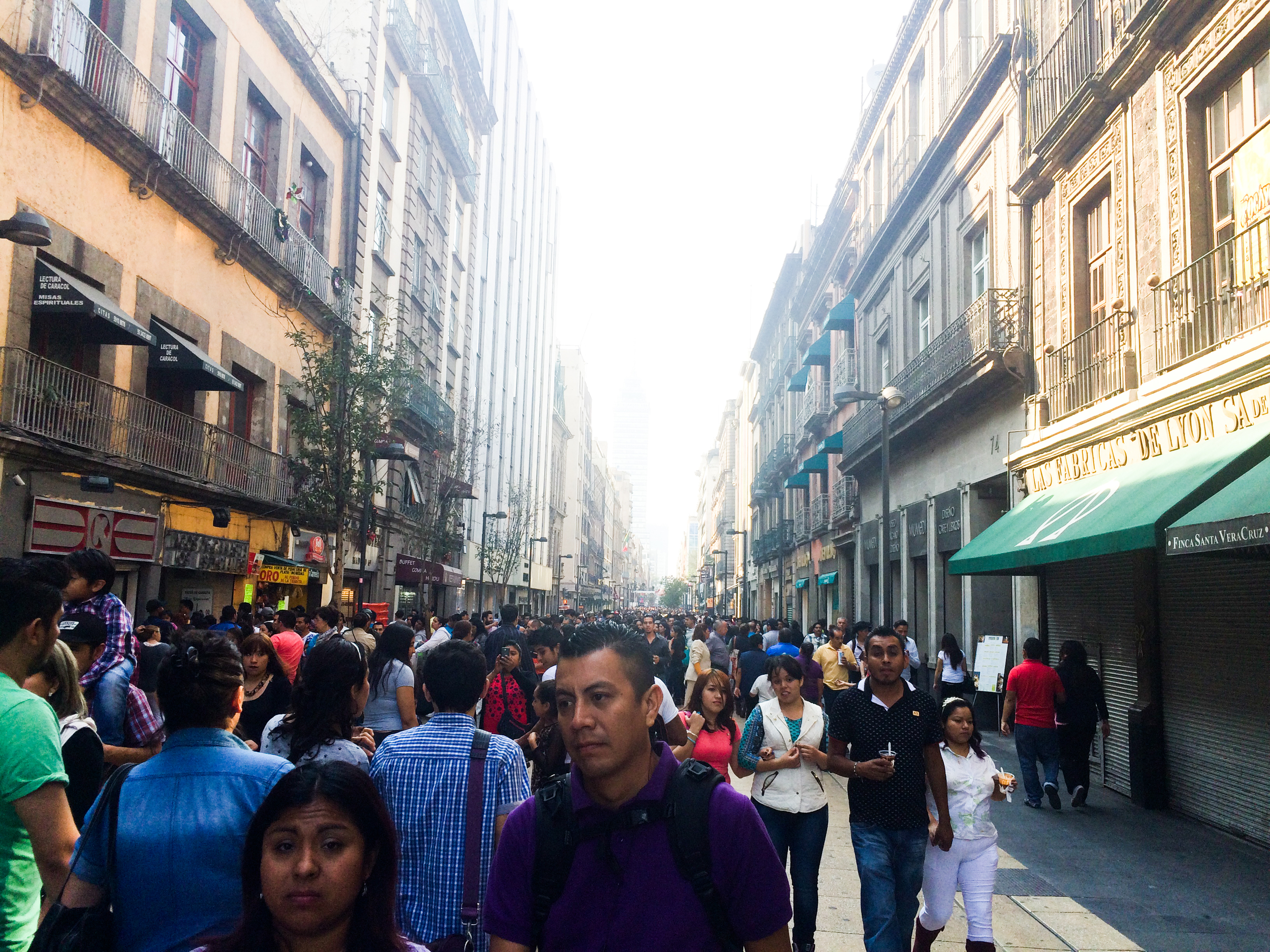 """Colonial Mexico City, or the """"downtown"""" part. It's akin to Times Square."""