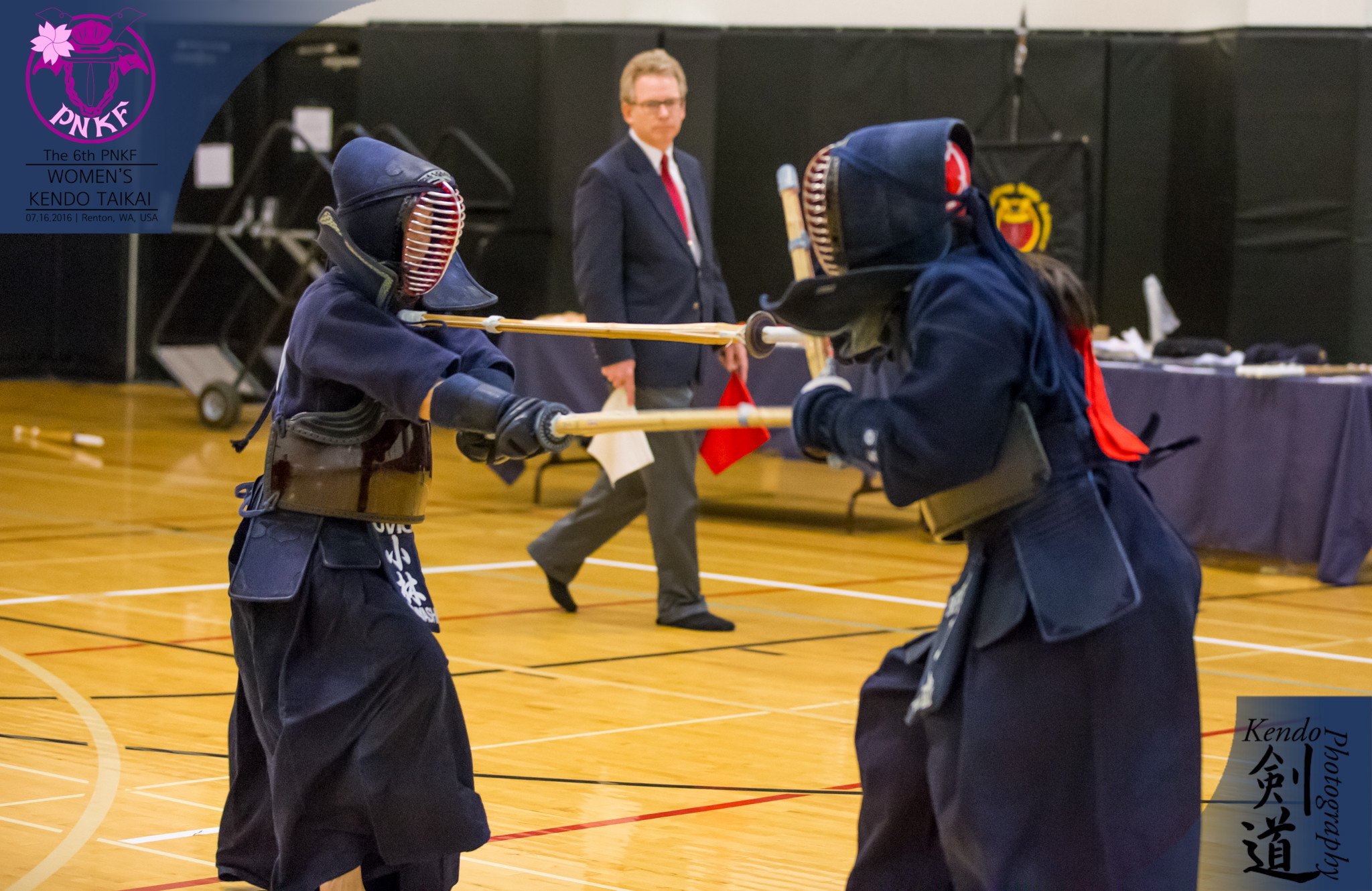 In the tournament there were a few people doing jodan and nito. The individual's champion, Sano, used jodan in most of her matches.  Photo by event photographer Kendo Photography (Seattle).