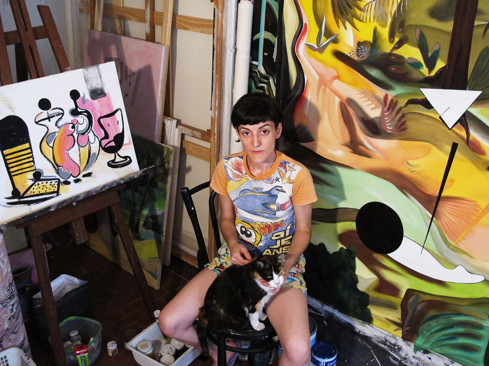 visual artist, buenos aires, argentina •  adriana minoliti