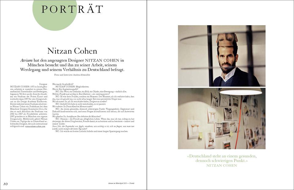 atrium 02_2015  •   Nitzan Cohen
