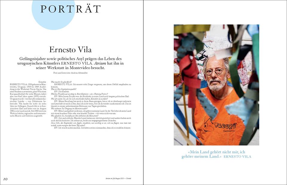 atrium 04_2015  •   Ernesto Vila