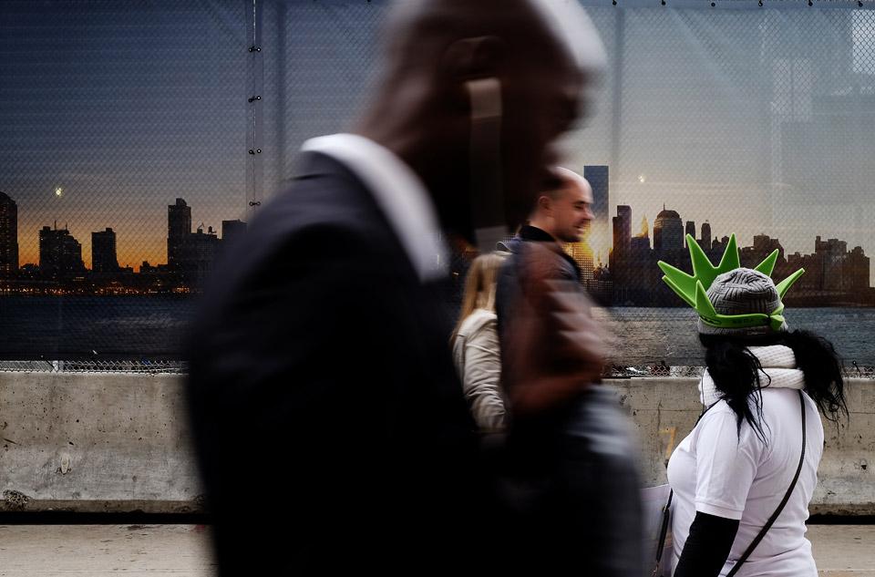 ground zero, new york, usa 2015