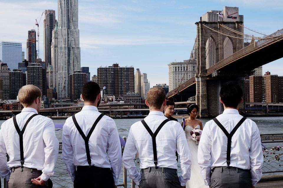 brooklyn bridge, new york, usa 2015