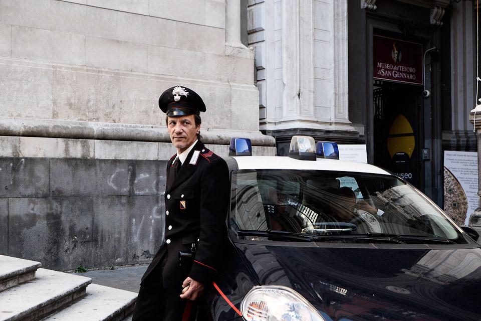 carabinieri, naples, italy 2016