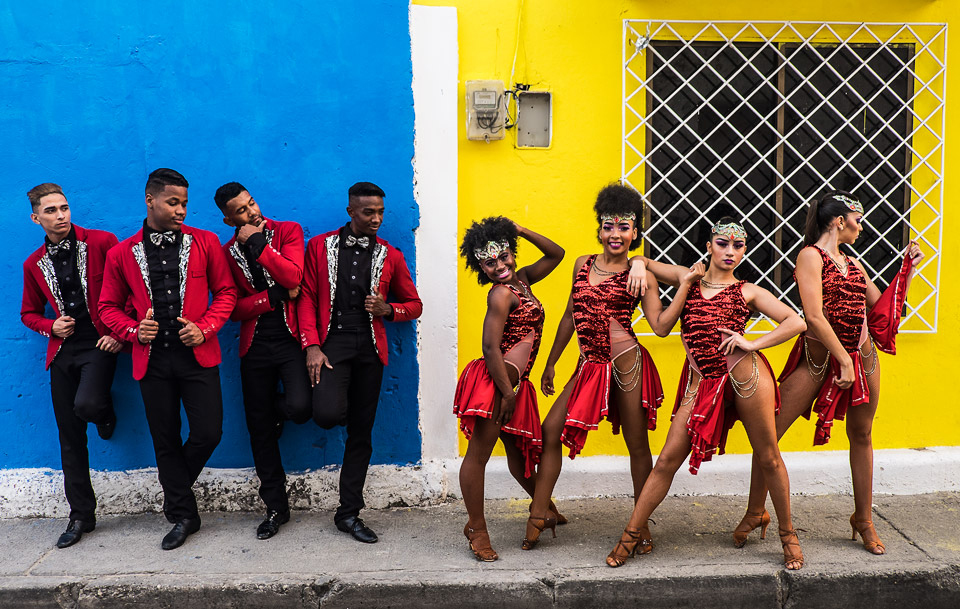 salsa dance group, cartagena, colombia