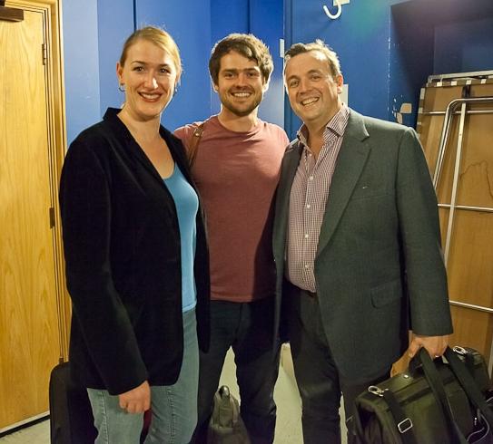 Erica Eloff,  Tom Verney  and Andrew Watts