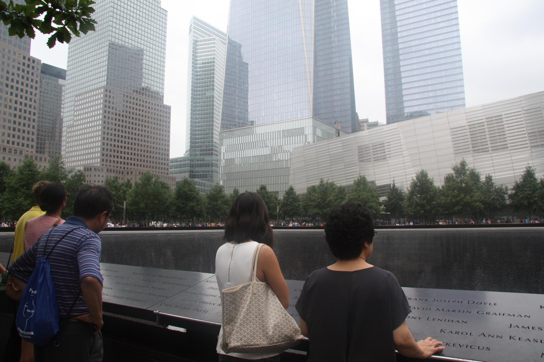9/11 ground zero memorial
