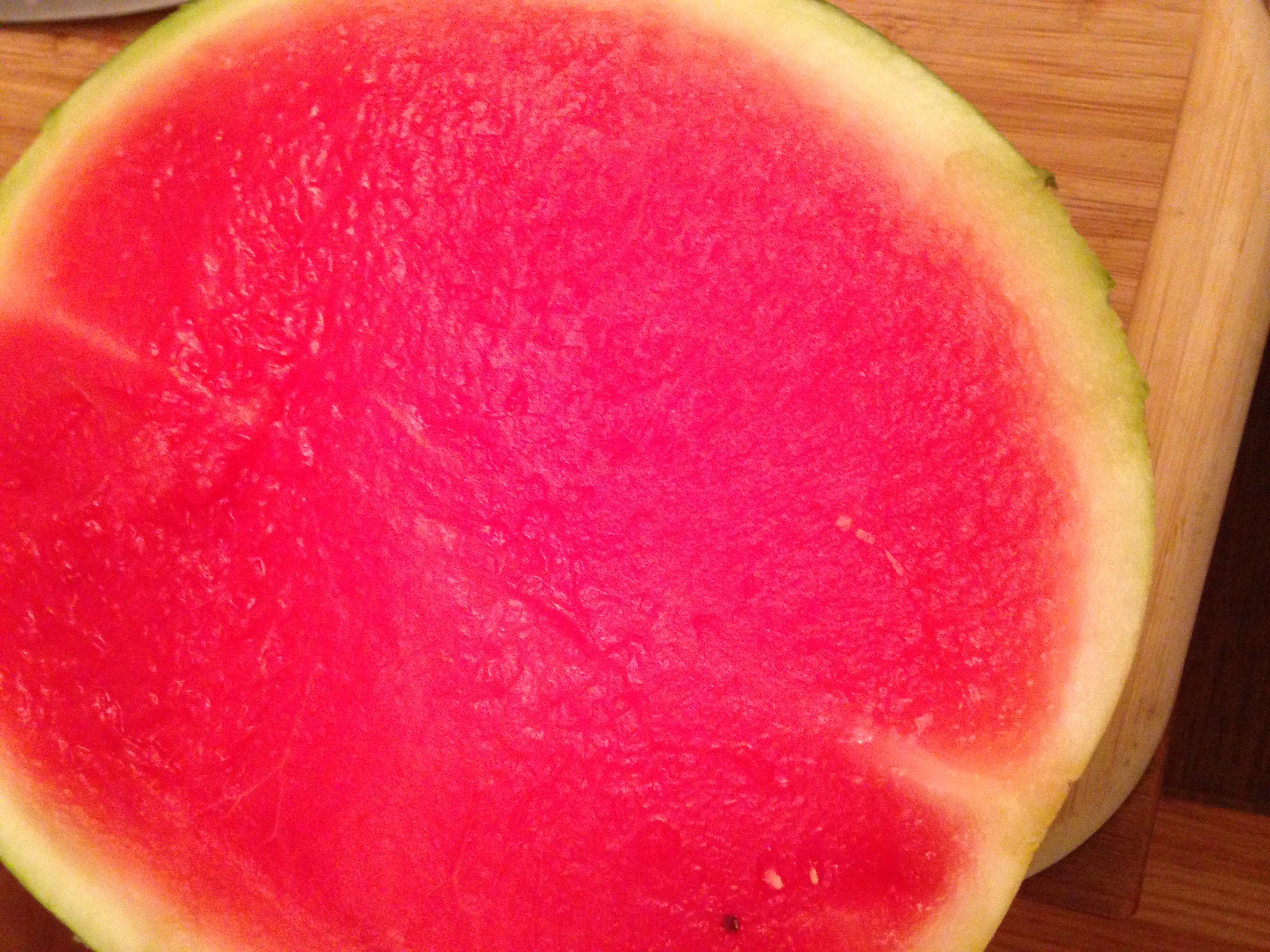 The most delicious watermelon I have ever had