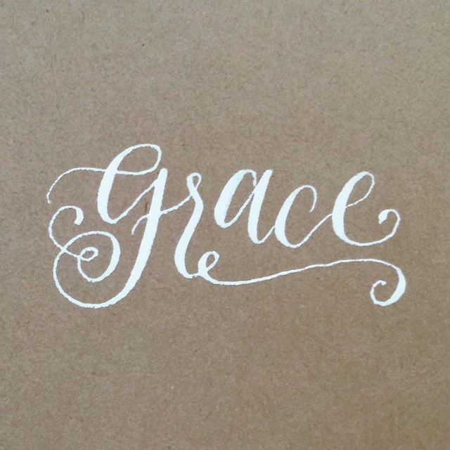 Thankful for  @madebysonia  for this and for calligraphy supplies set via the brother