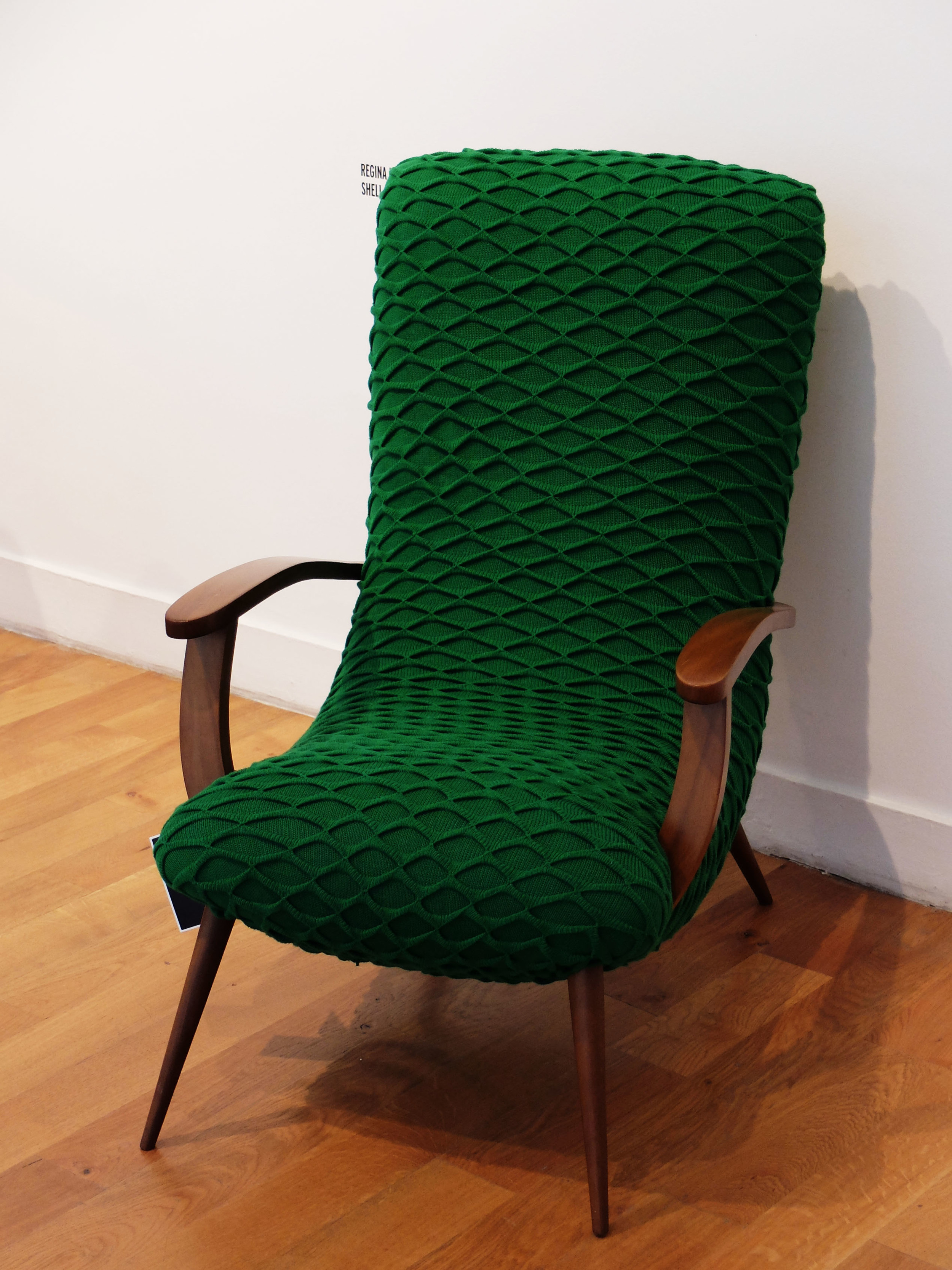 Knitted upholstery