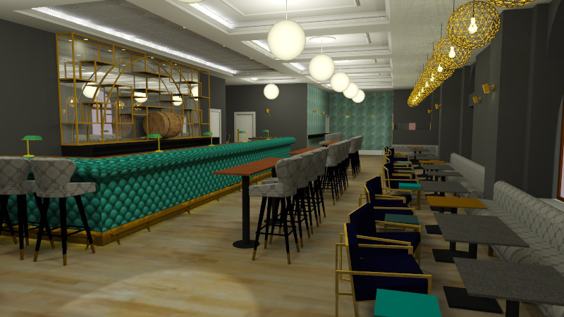 Roc & Rye - CGI of new bar