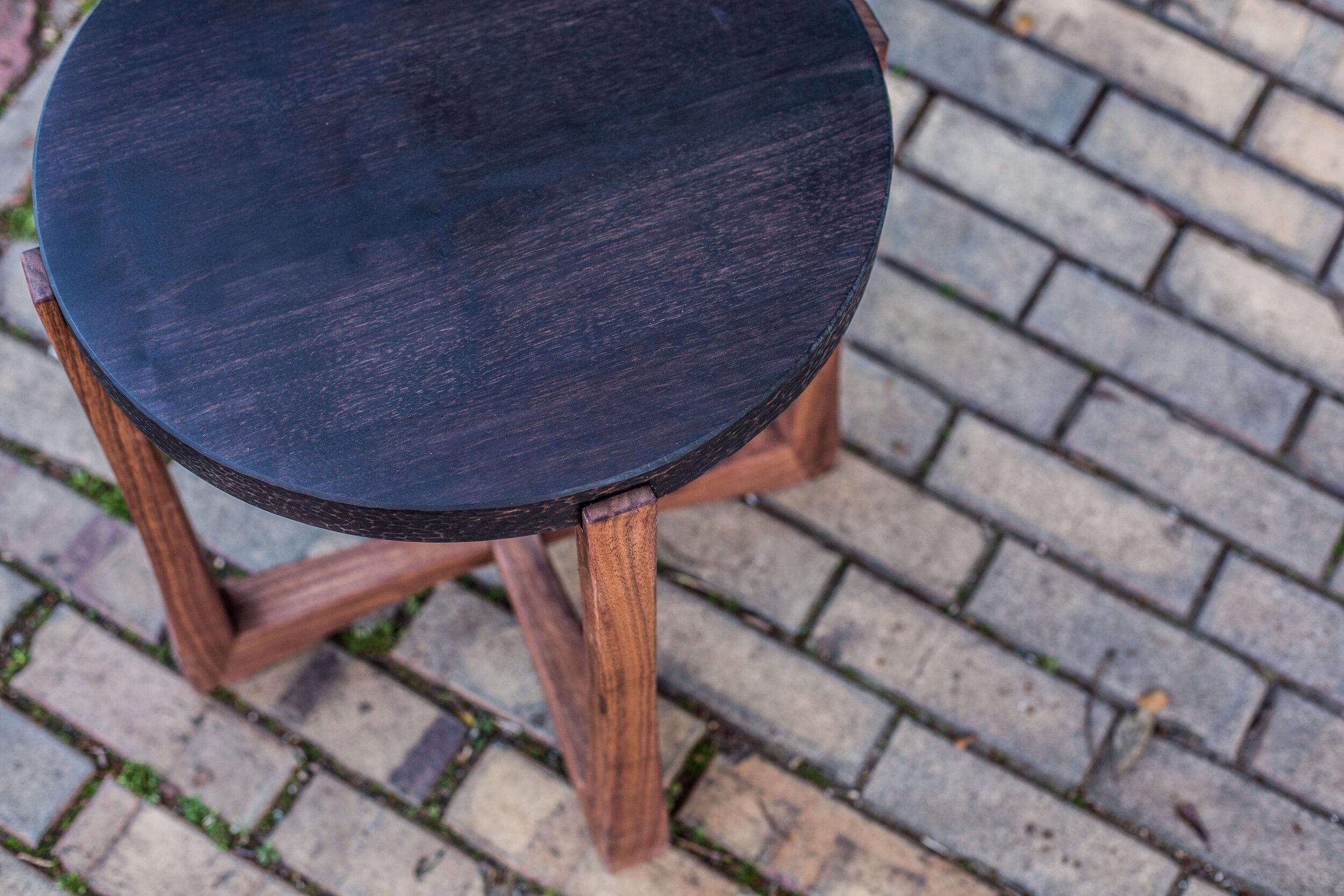 Alicia_Dietz_Modern_Concrete_Furniture_Carved_Wood_End_Table_Sofa_Table_Richmond_VA_5