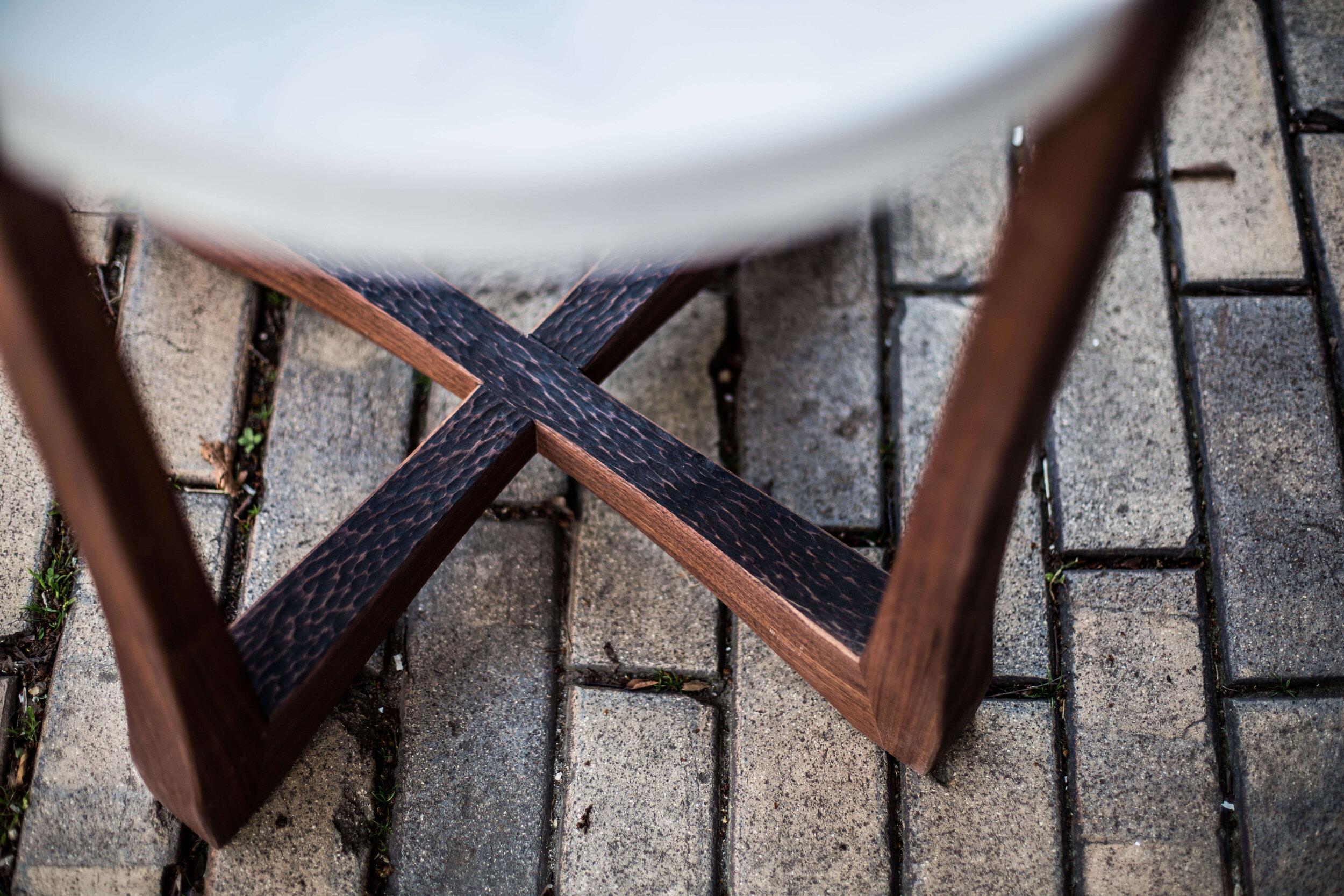 Alicia_Dietz_Modern_Concrete_Furniture_Carved_Wood_End_Table_Sofa_Table_Richmond_VA_10