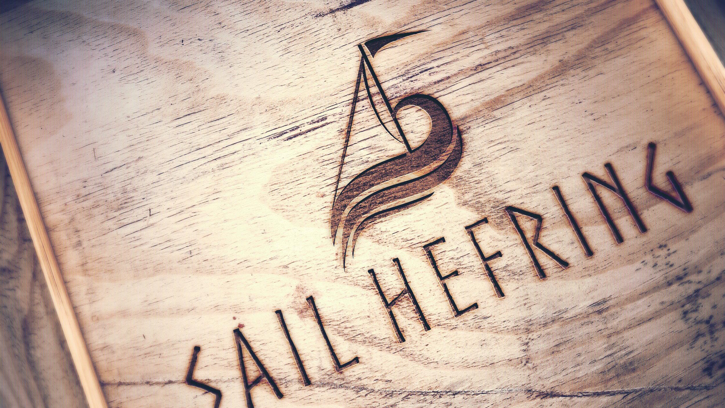 Sail Hefring - Logo og nettside