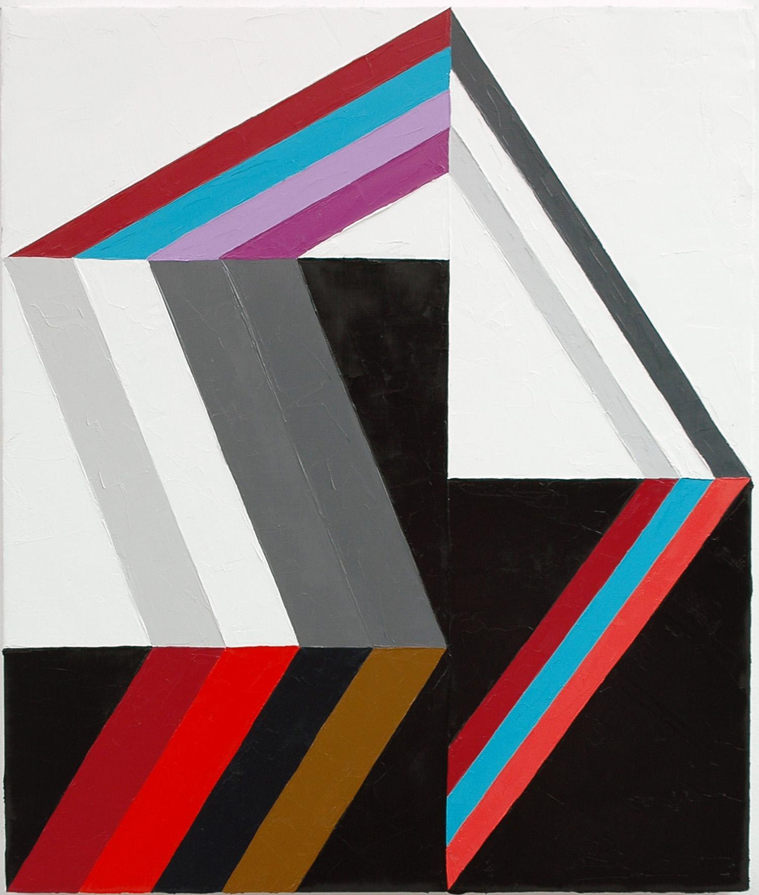 "Cris, Calm, Cap; Oil on Linen; 18"" x 22""; 2010"