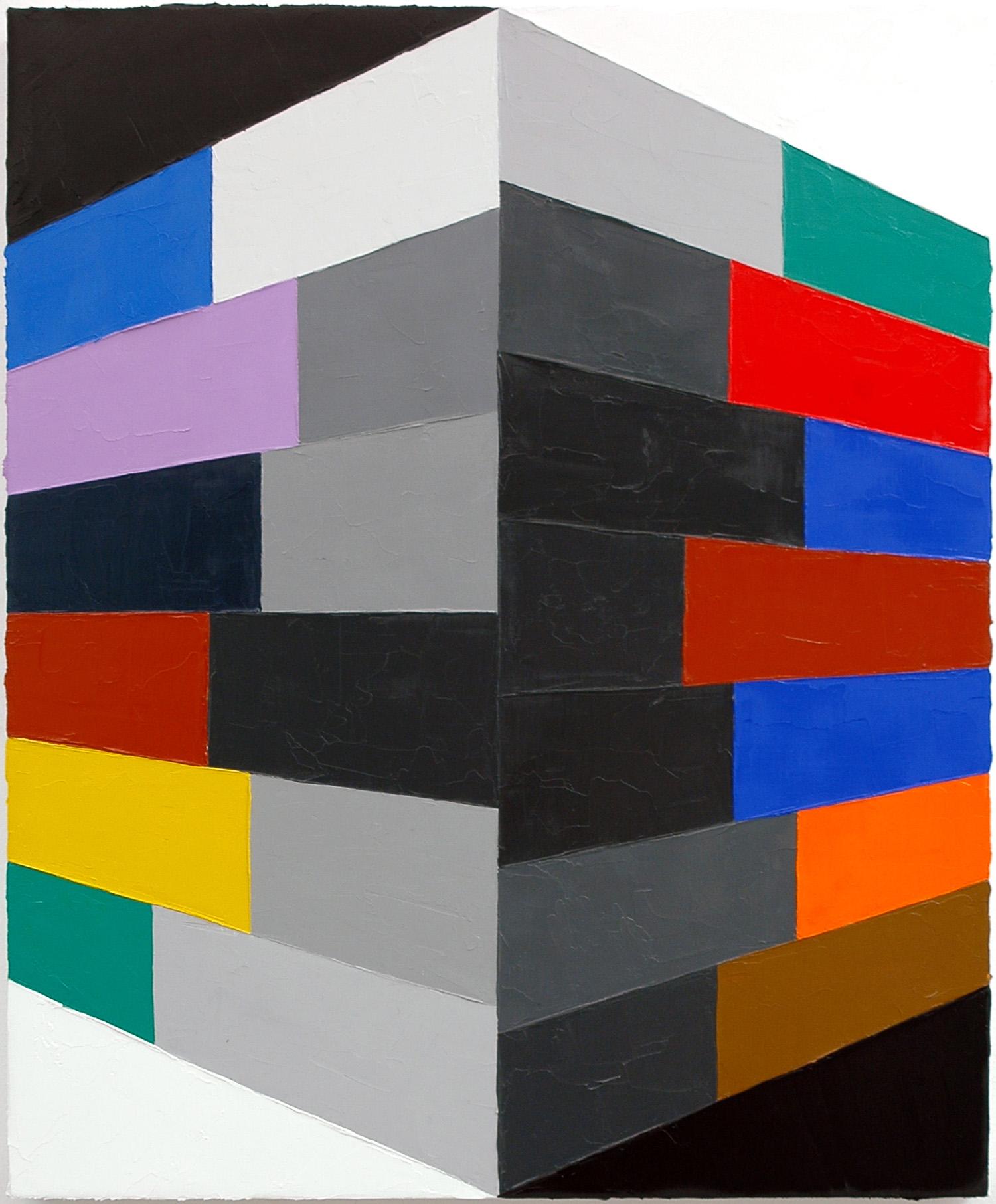 """Blithe Souture; Oil on Linen; 18"""" x 22""""; 2010"""