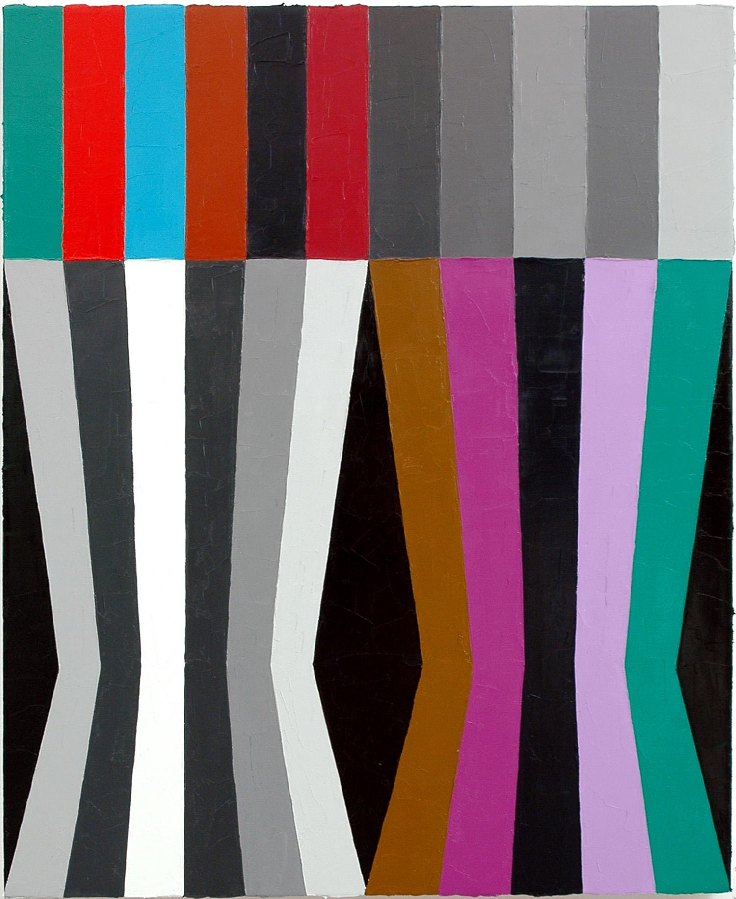 """Eratic Smile; Oil on Linen; 18"""" x 22""""; 2010"""