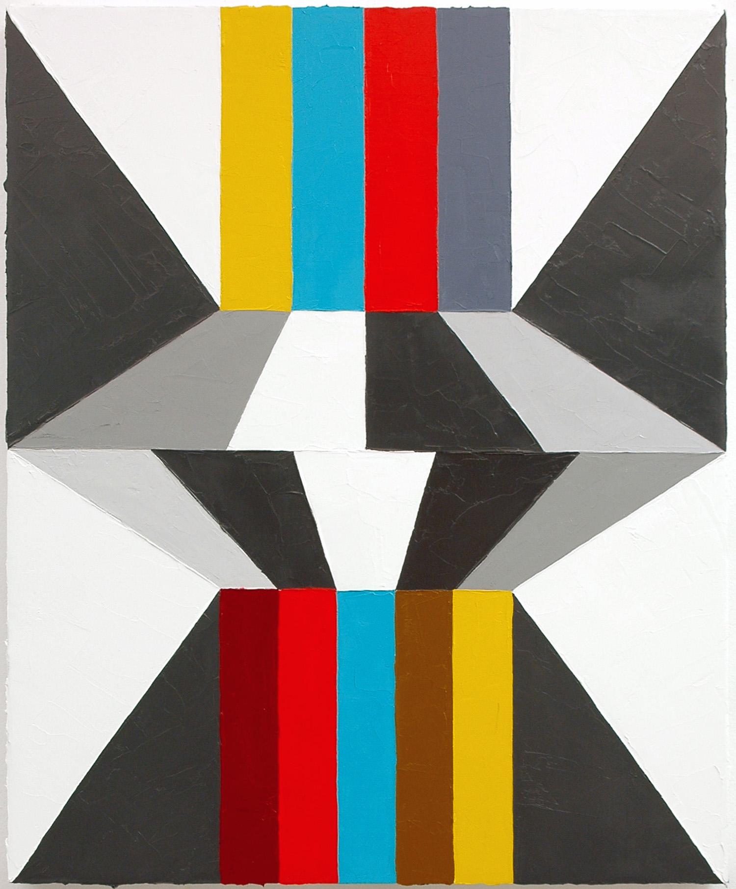 "Hard Crash; Oil on Linen; 18"" x 22""; 2010"