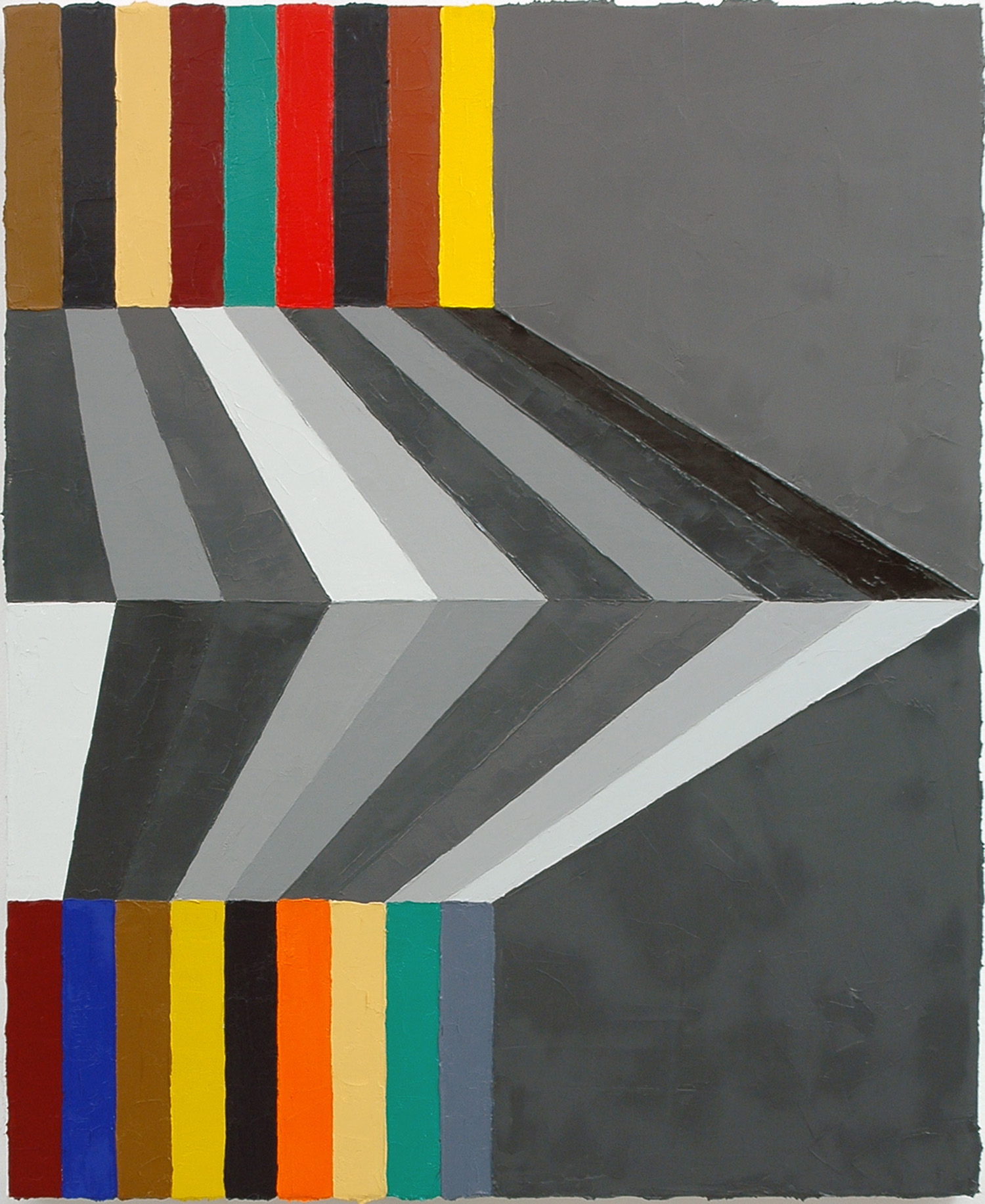 """Sincerity Cushioned; Oil on Linen; 18"""" x 22""""; 2010"""