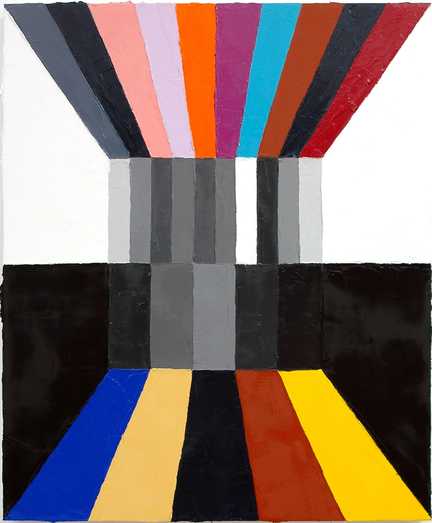 "Diplomatic Unity; Oil on Linen; 18"" x 22""; 2010"