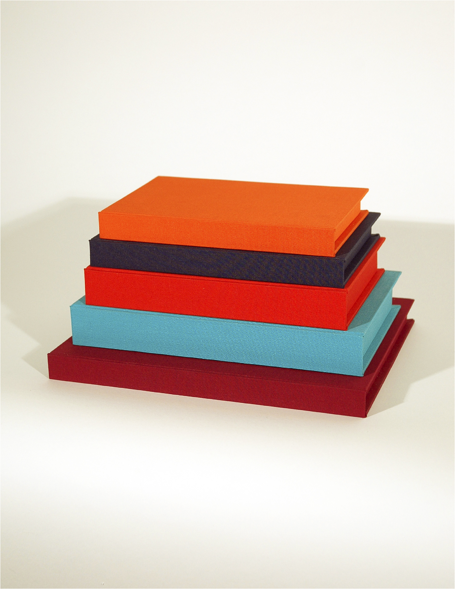 Mario: The Cop's Monument; Bookbinding Board and Fabric with Entombed Books; Dimensions Variable; 2007