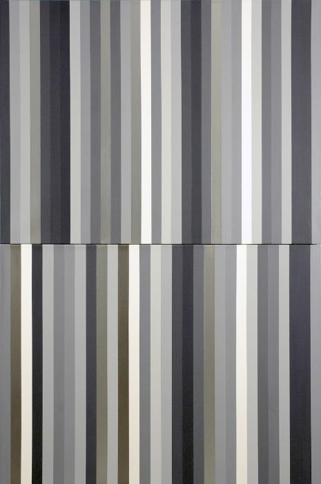 "The Studio of Alberto Giacometti; Acrylic on Linen; 60"" x 40""; 2003"