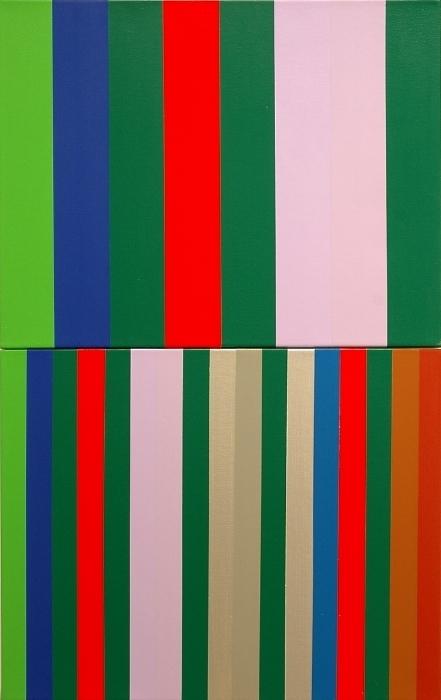 """Querelle/Querelle de Brest; Acrylic on Canvas; 32"""" x 20""""; 2004-05"""