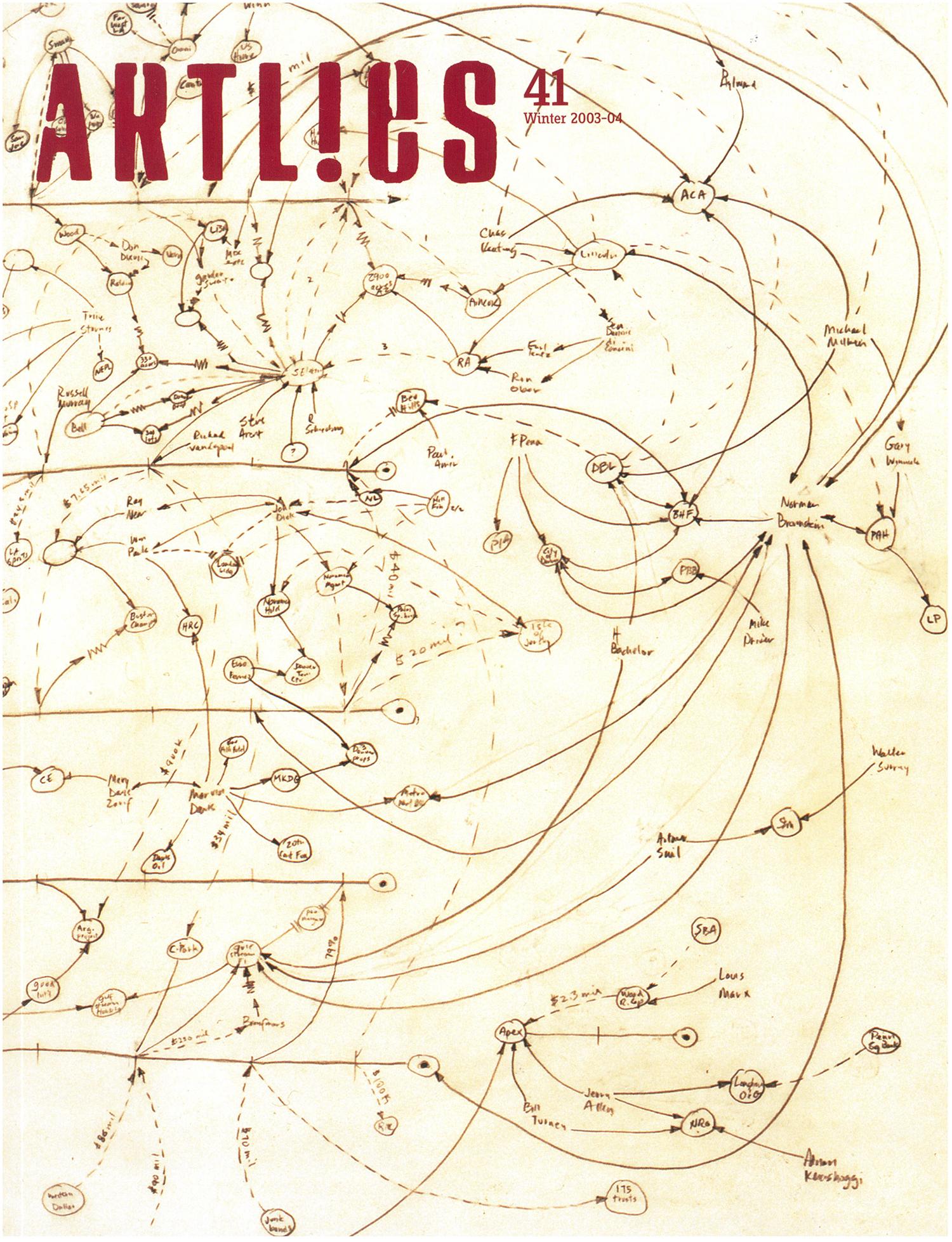 ArtL!es Volume 41 Magazine Cover