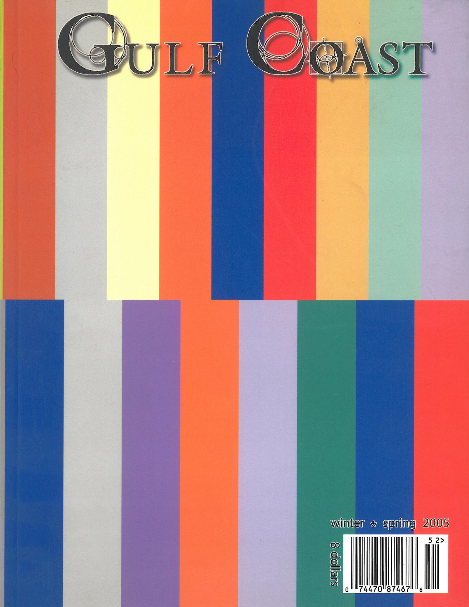 Gulf Coast, Winter/Spring 2005: Journal Cover