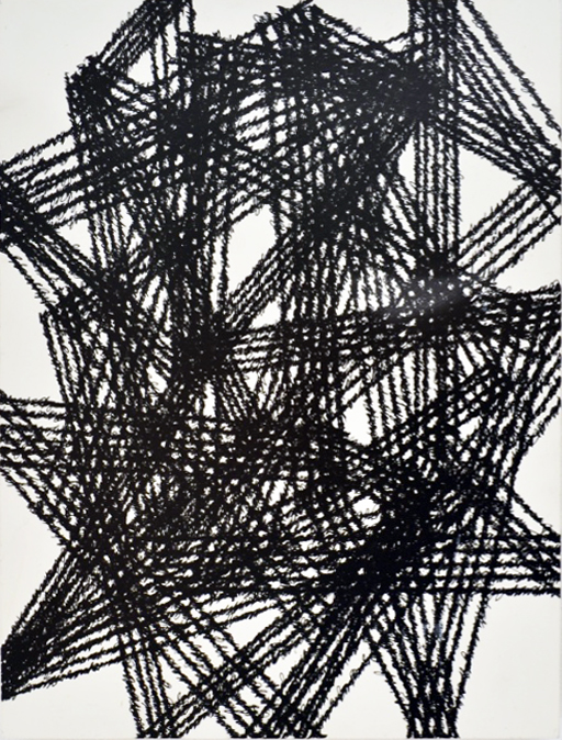 "Strange Hell of Beauty 'B', 9"" x 12"", ink on clayboard panel, 2016."