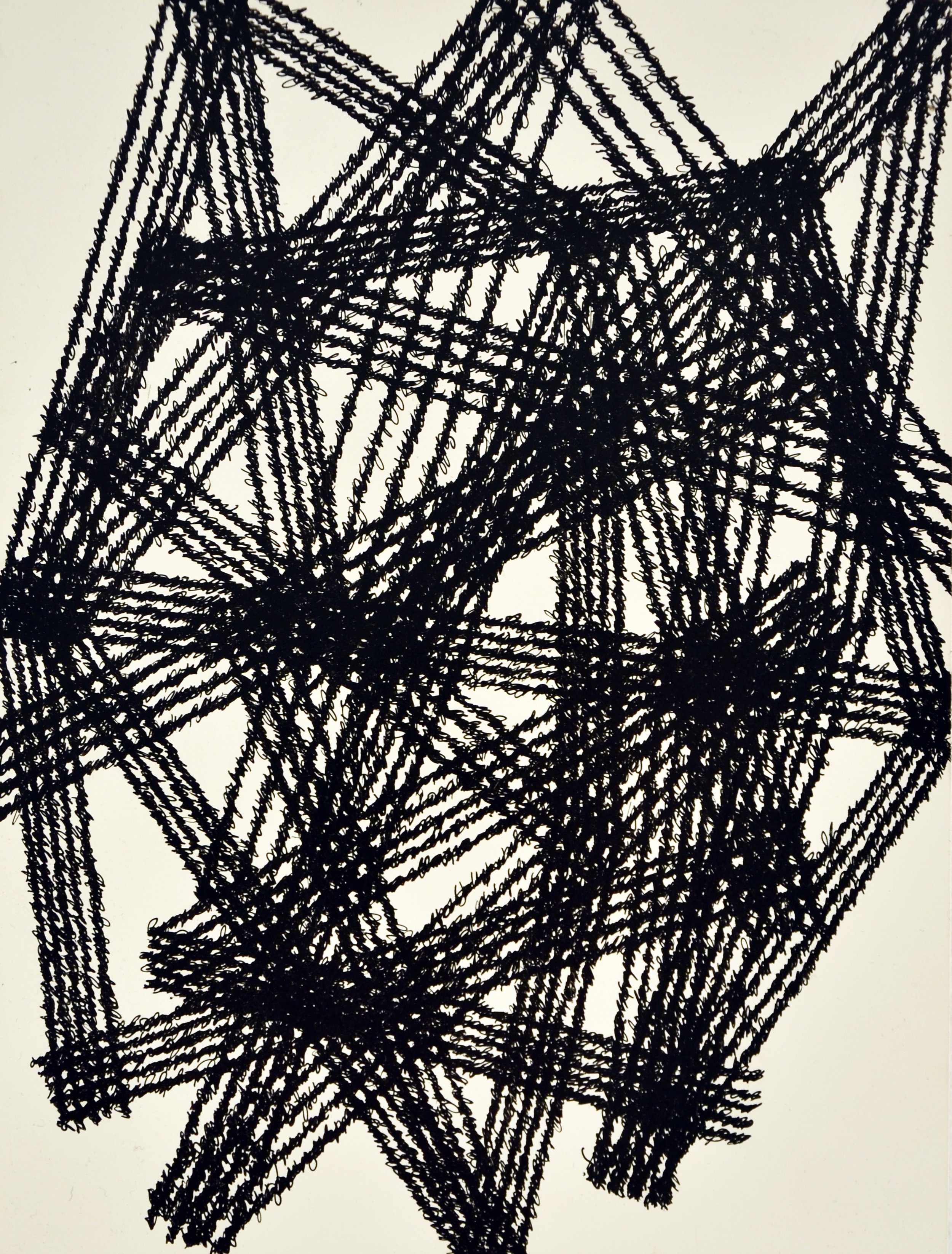 "Strange Hell of Beauty 'C', 9"" x 12"", ink on clayboard panel, 2016."
