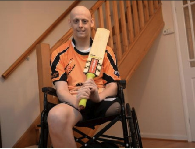 Photo taken by the argus during my chemo after my op