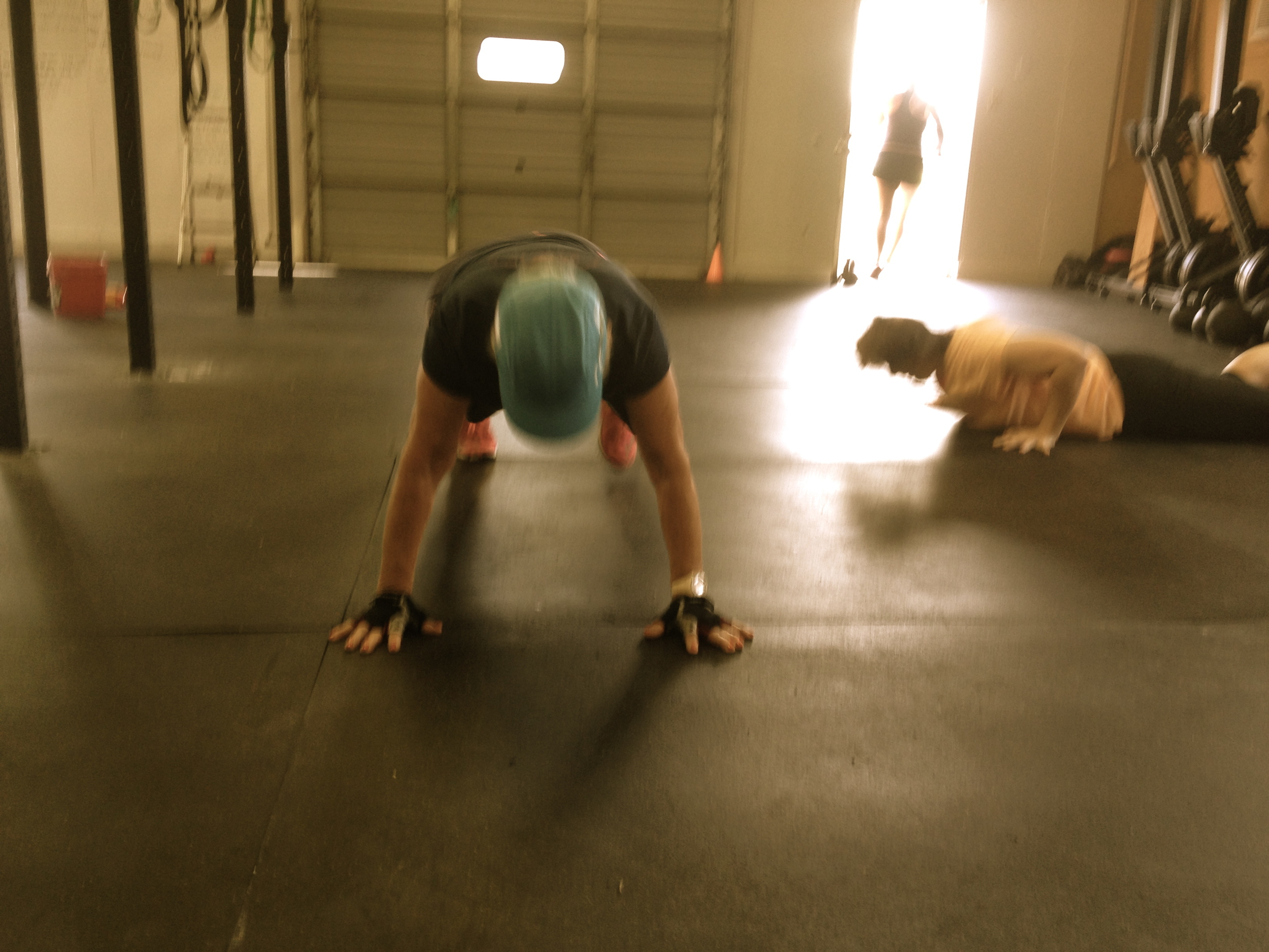 Margaret completed the workout Rx on Monday! Great work Margaret!