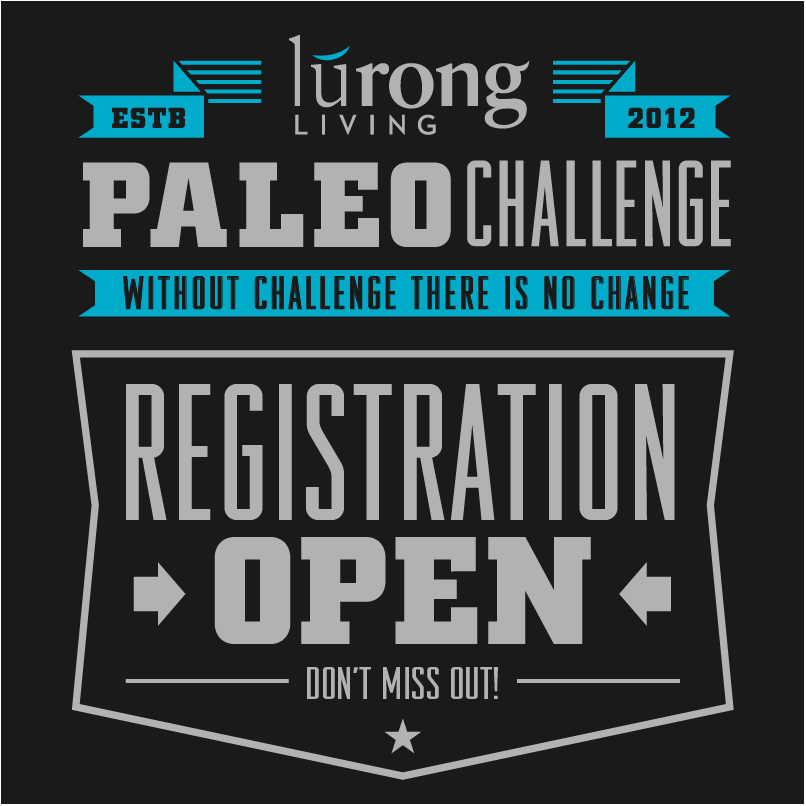 ODIN CrossFit will be participating in the Lurong Paleo Challenge.  In order to participate, please go to https://www.lurongliving.com/challenge/ and register today!