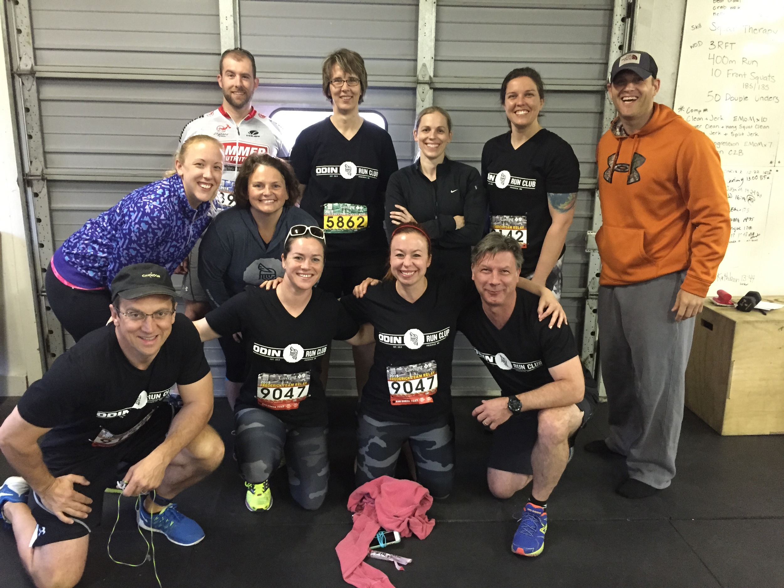 Congrats to everyone who ran the Frederick Half or Relay! It was a beautiful day. Next time, we should all train!