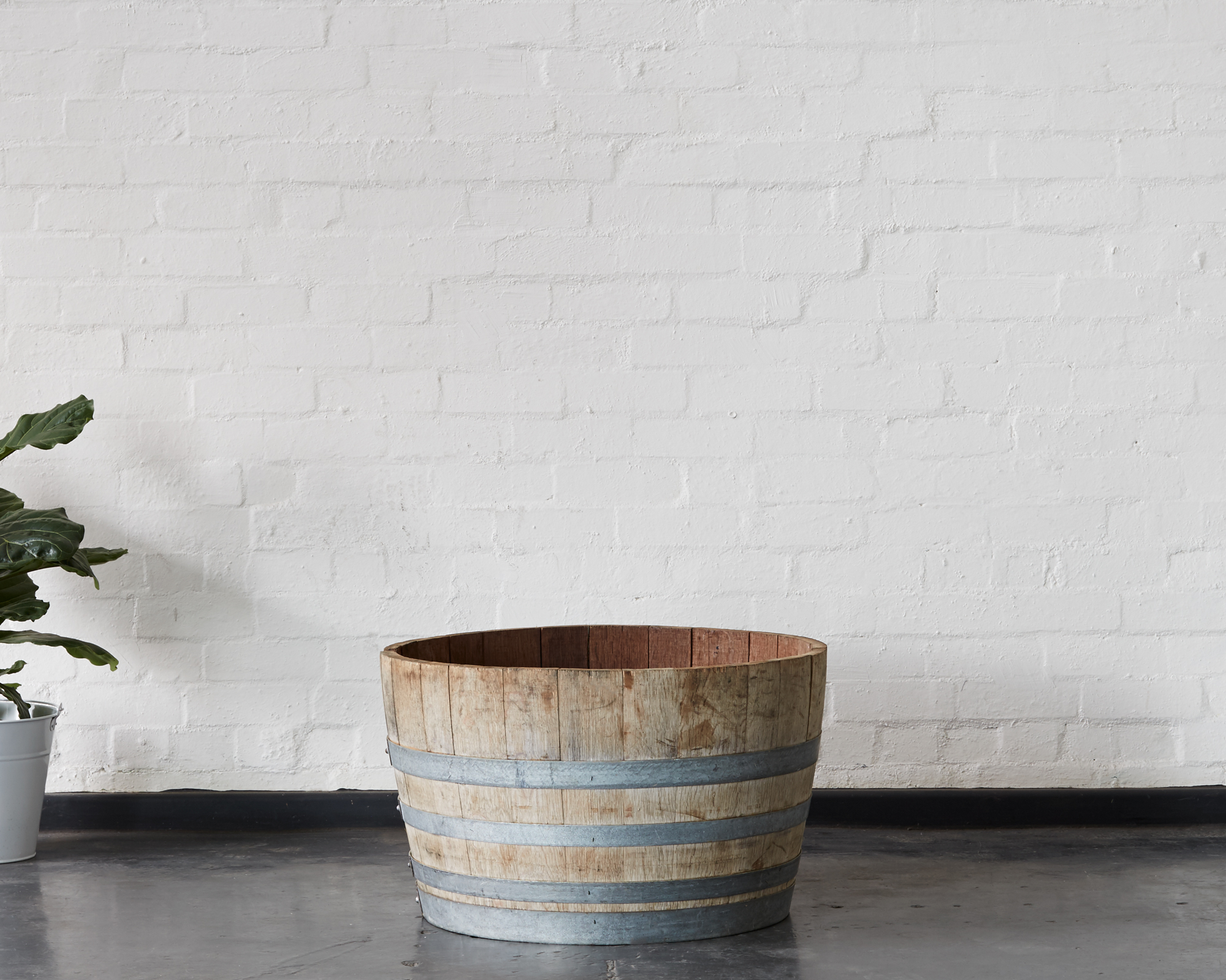 Wine Barrel Half