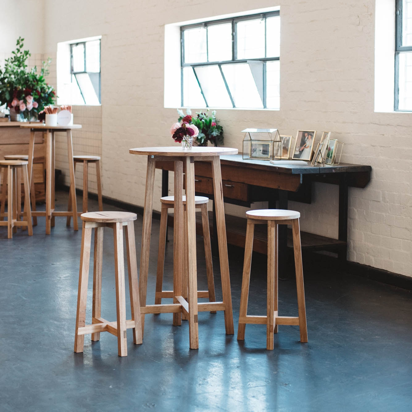Stockholm Table and Stools