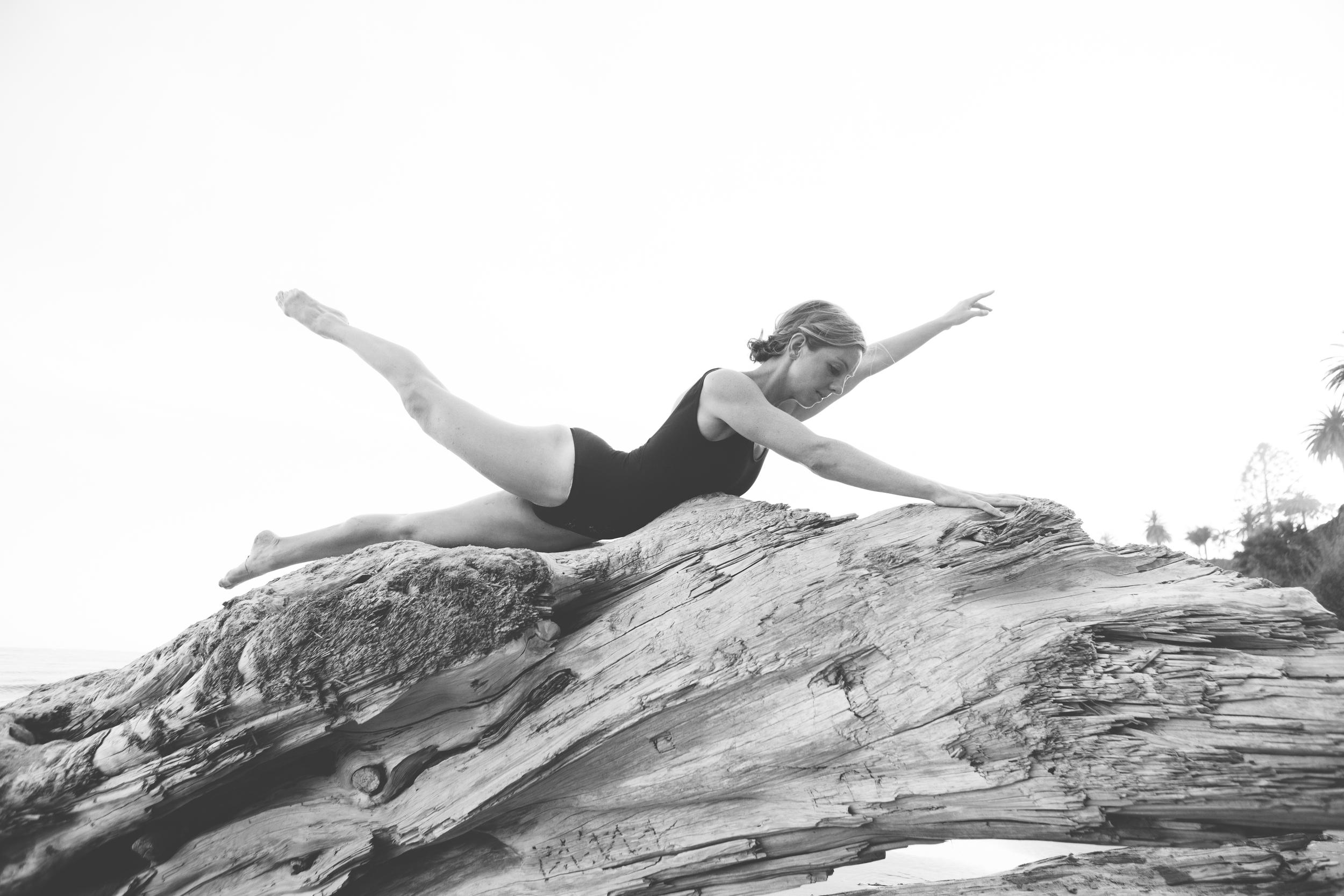 Colleen Ferguson swimming