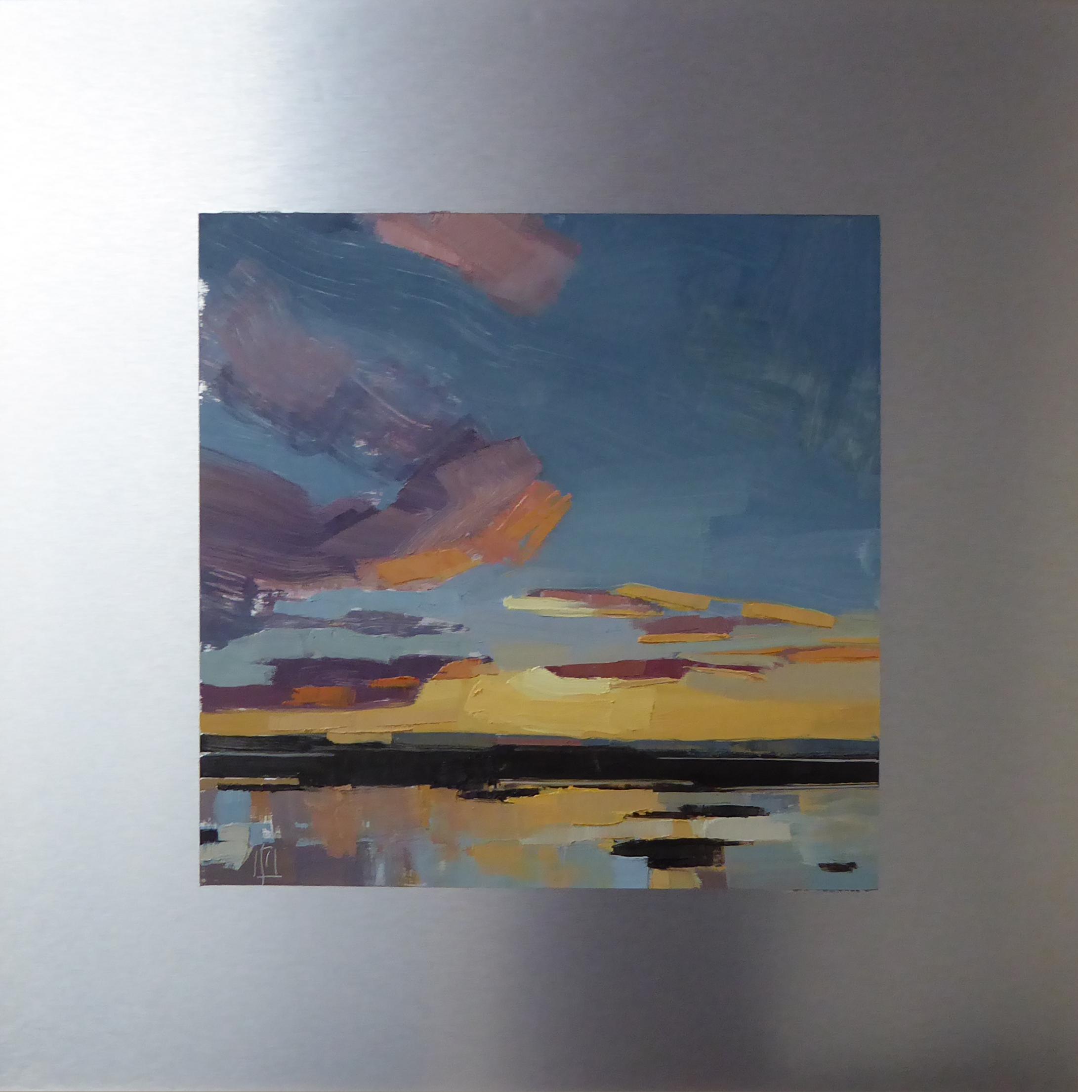 Plum Island, West  12 x 12 on 20 x 20 alum panel   Islesford Artists Gallery   sold