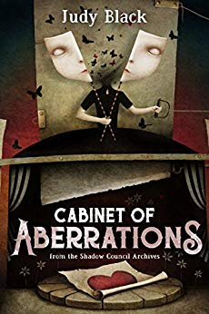 Cabinet of Aberrations (Book 1)    If Sam Winchester was the illustrated lady in a traveling sideshow in the 1900s, he'd be Hazel Finnegan.   Hazel has a power, and with that power, a responsibility. She hunts down the things that go bump in the night, and once she kills them, traps them into her skin via magical tattoo transference. Then she can call upon the monsters she's vanquished to help her take out other baddies. But she may have bitten off more than she can chew this time.