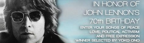JohnLennon's70thBirthdayWinner