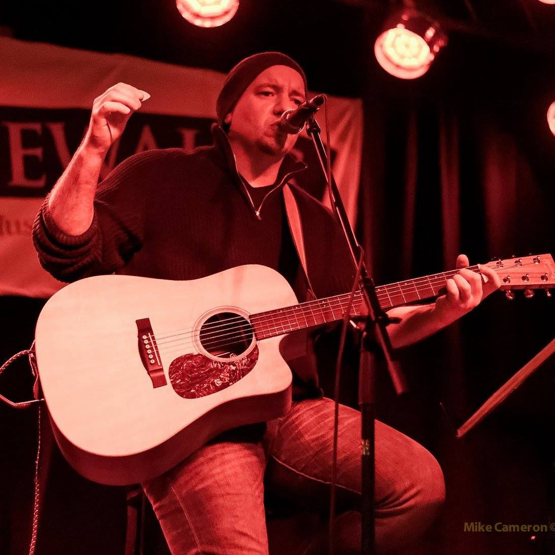 Carm Milioto - Carm has built his musical roots as a singer-songwriter and producer here in Hamilton, Ontario. You may know him as a soloist on local stages or as the front man for two well established Hamilton bands