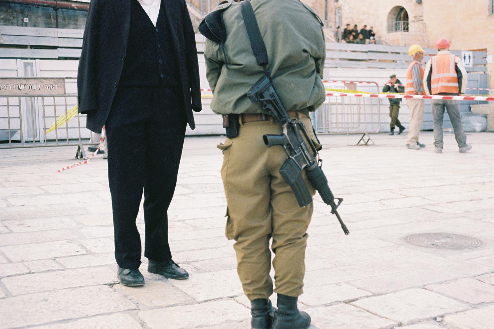 Klagemauer, Jerusalem, Dezember 2013