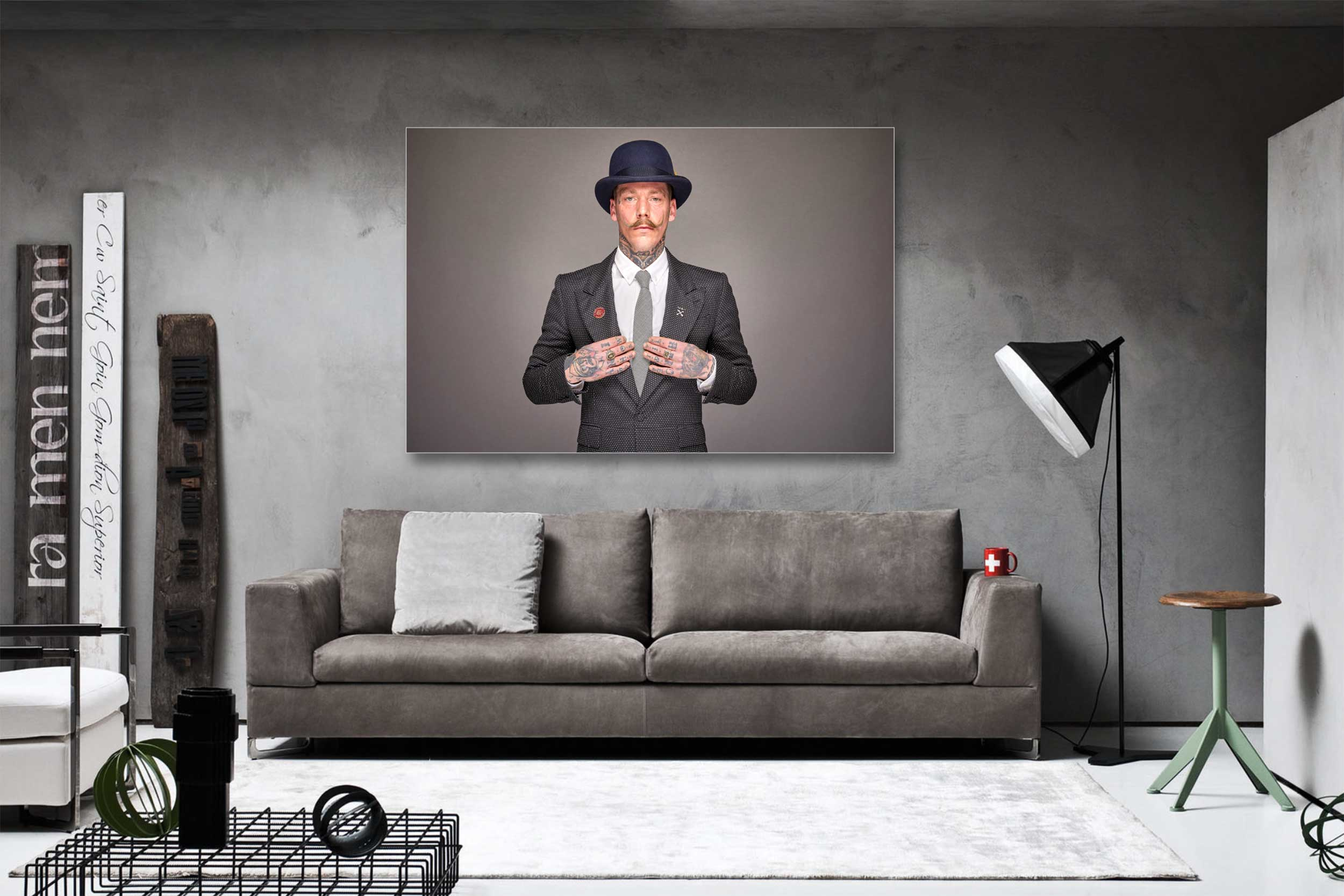 Wall Art Print On Aluminium Dibond Backing - Top quality photo papers Created with an aluminium Dibond backingSize 90x60cmWorld wide shipping servicesMore info & order HERE
