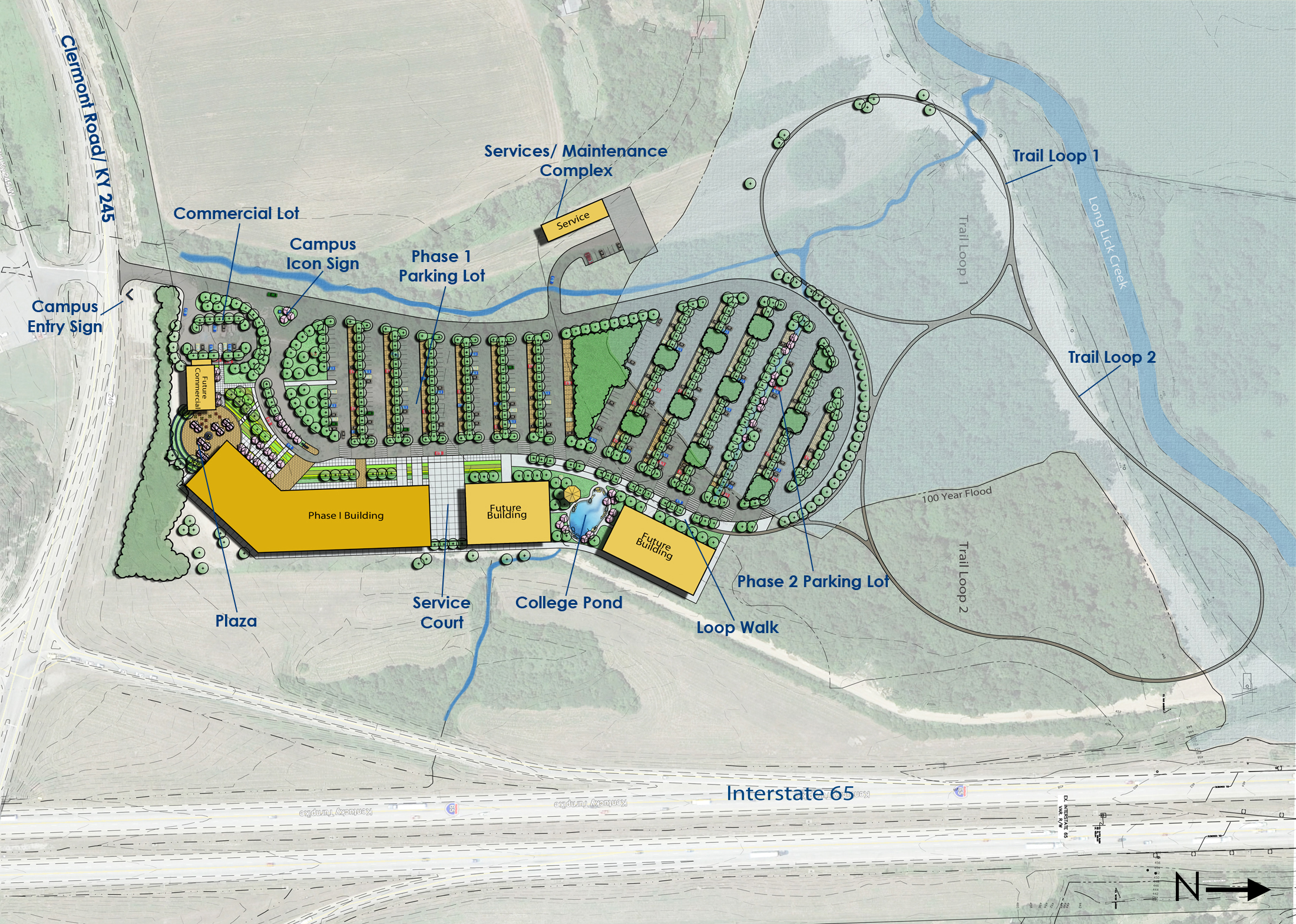Jefferson Community and Technical College | Bullitt County Campus Master Plan