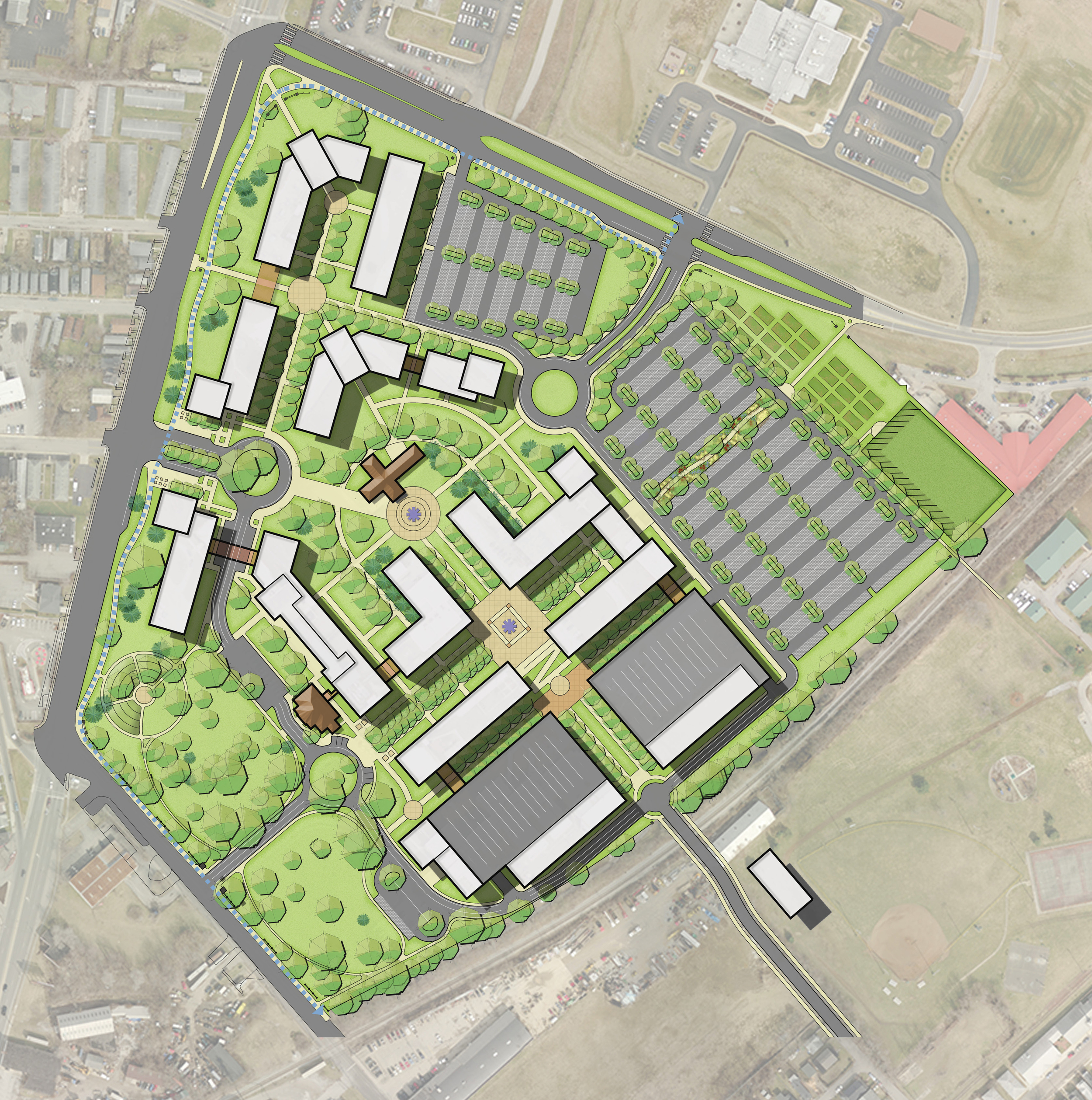 Bluegrass Community and Technical College | Newtown Pike Campus Master Plan